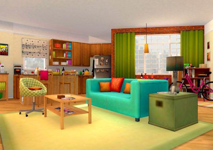 Appartamento di Penny in 3D (Archilogic)