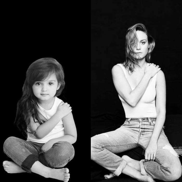Scout Larson/Brie Larson (hello.scout/Instagram)
