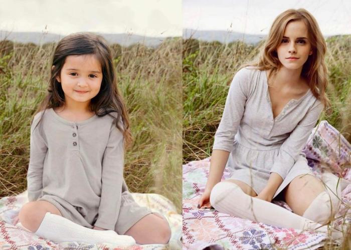 Scout Larson/Emma Watson (hello.scout/Instagram)