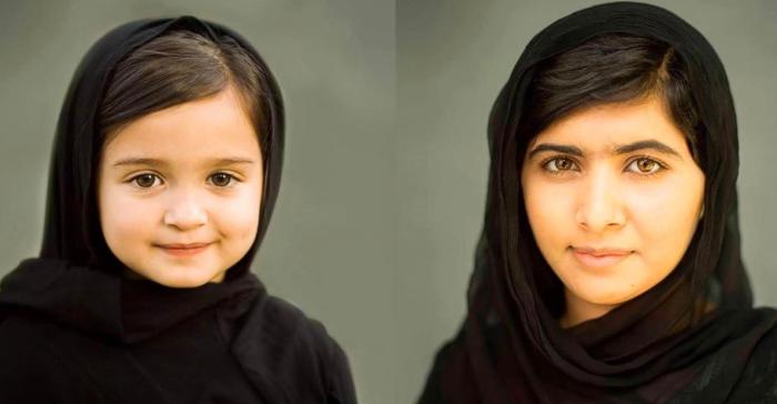 Scout Larson/Malala Yousafzai (hello.scout/Instagram)