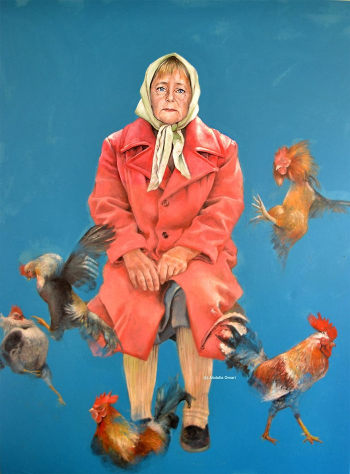 Angela Merkel (The Vulnerability Series/Abdalla Al Omari)