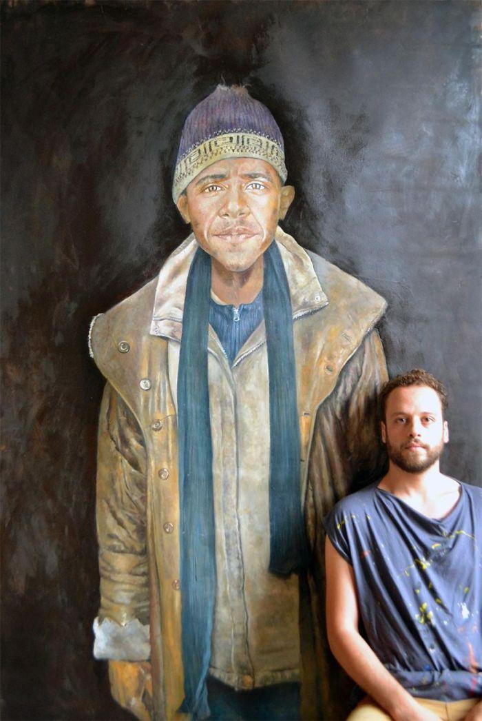Barack Obama (The Vulnerability Series/Abdalla Al Omari)