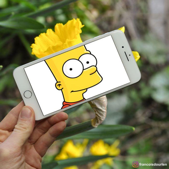 Bart Simpson (Francois Dourlen/Instagram)