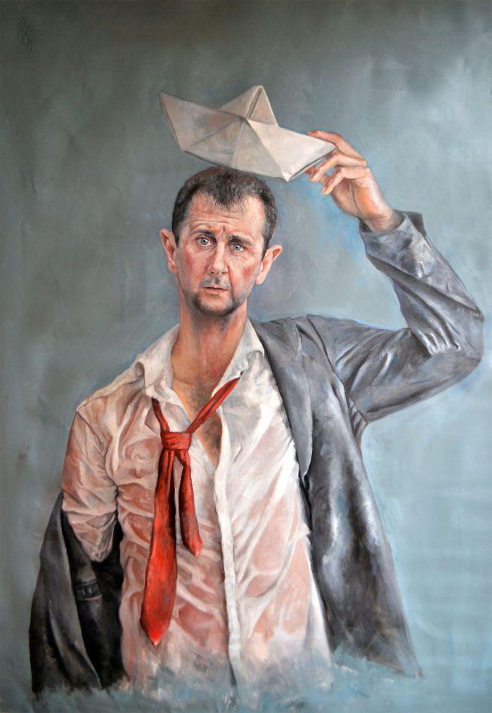 Bashar Al-assad (The Vulnerability Series/Abdalla Al Omari)
