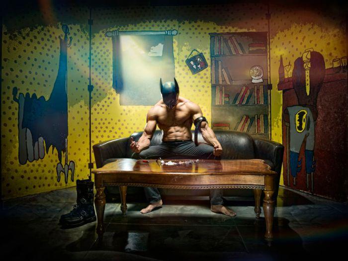Batman (Duke Shoman/SUbPAR HEROES)