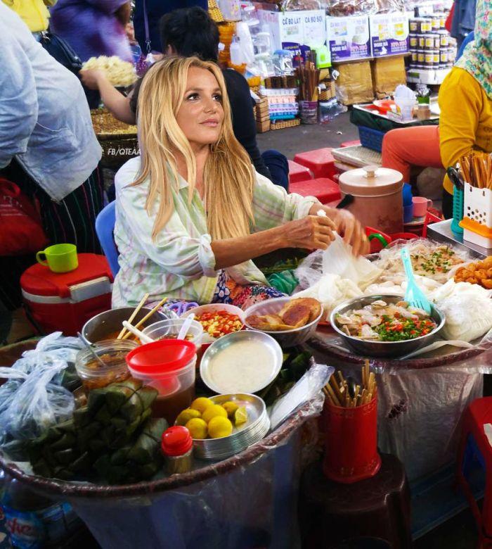 Britney Spears (FB/QTEAA/Foody.vn)