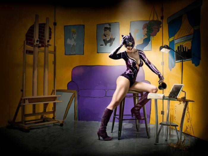 Catwoman (Duke Shoman/SUbPAR HEROES)