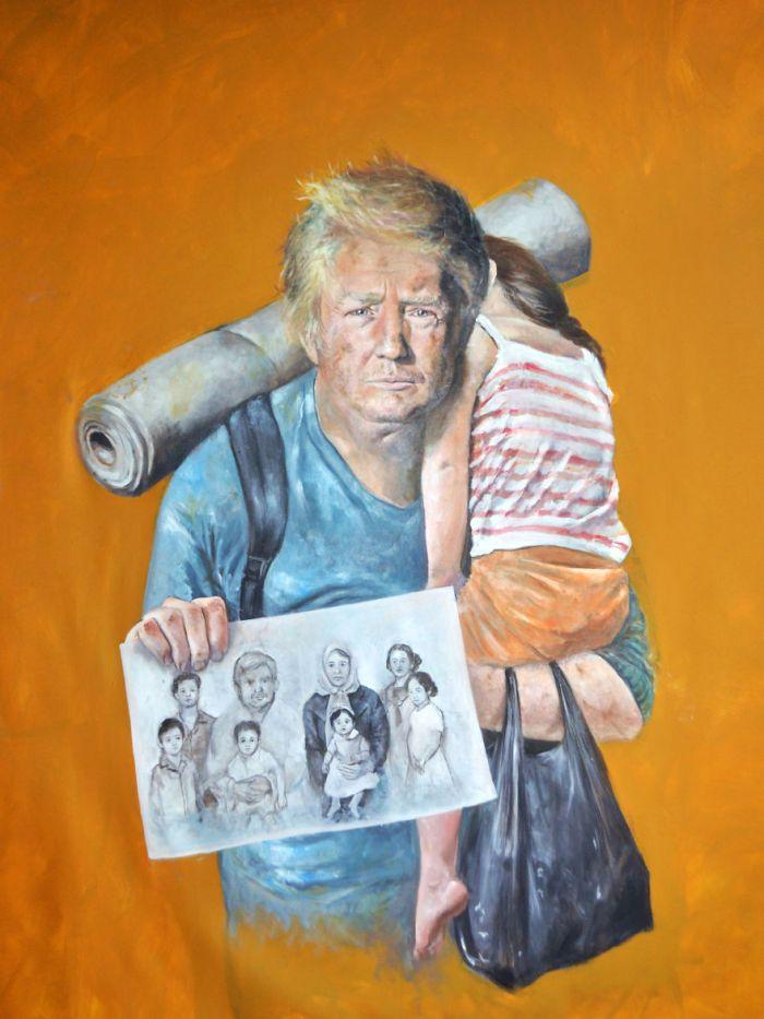 Donald Trump (The Vulnerability Series/Abdalla Al Omari)