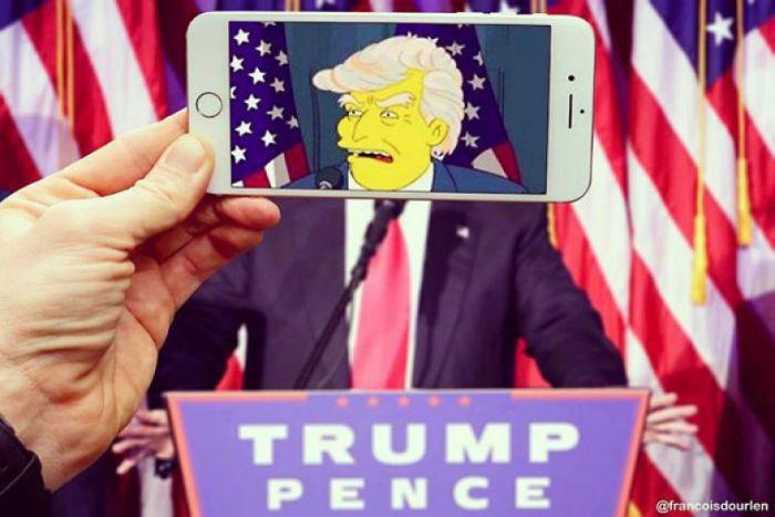 Donald Trump (Francois Dourlen/Instagram)