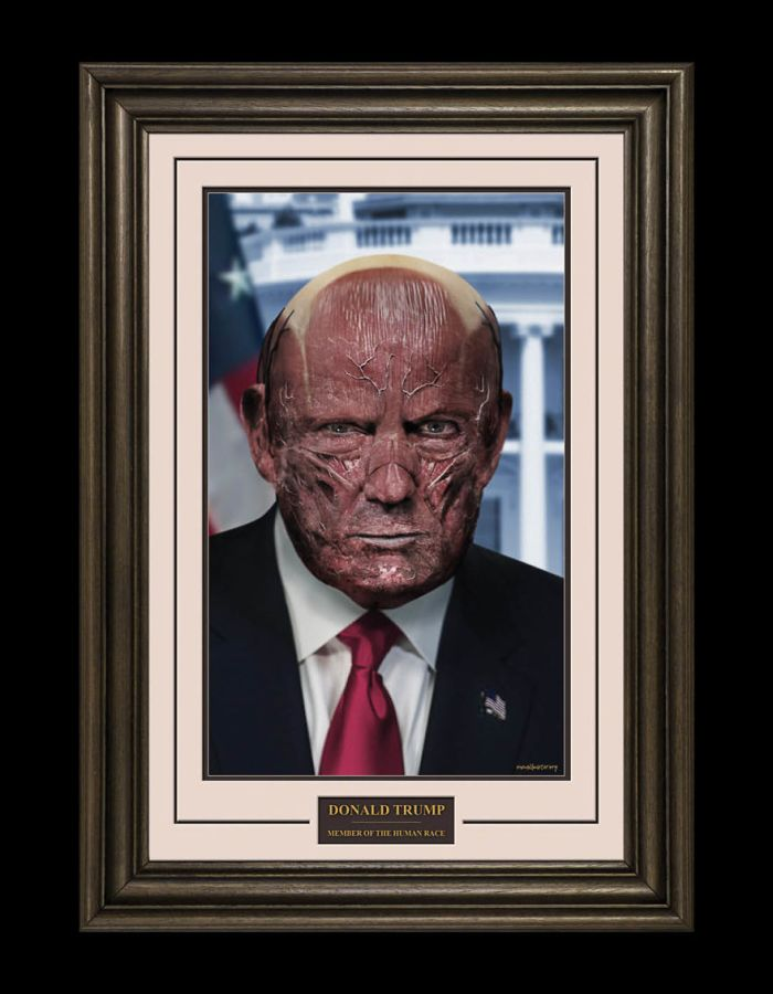 Donald Trump/One Millimeter (Alex Wadelton/Marcus Byrne)