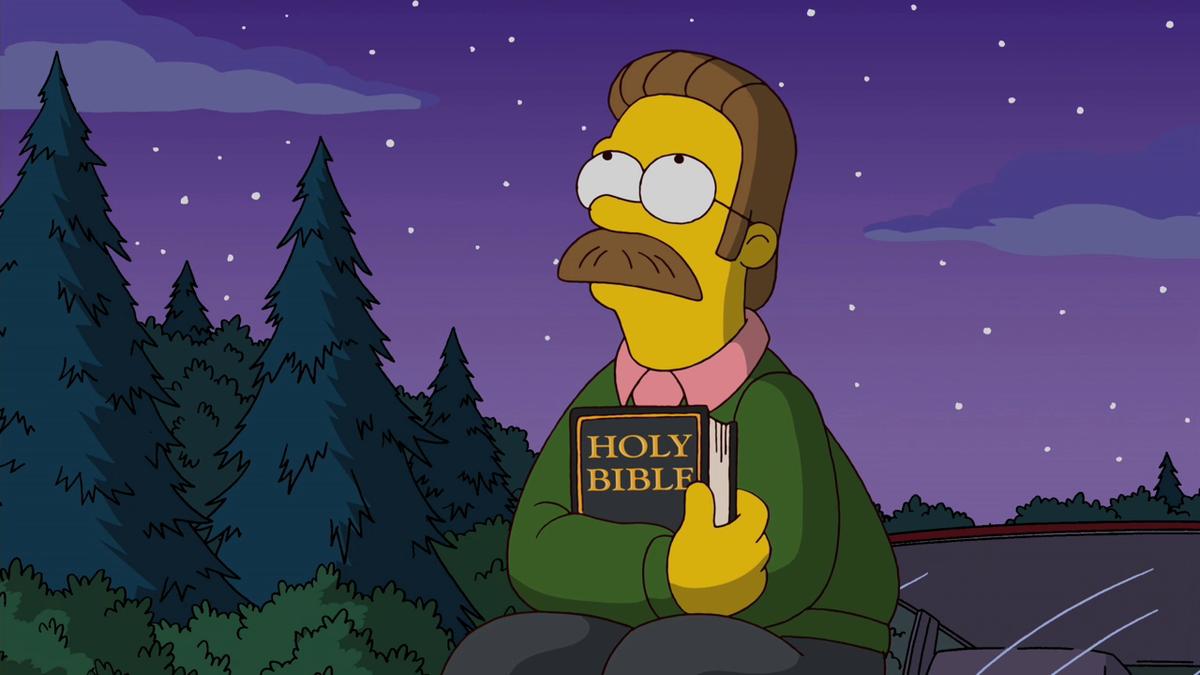 Ned Flanders (I Simpson/20th Century Fox)