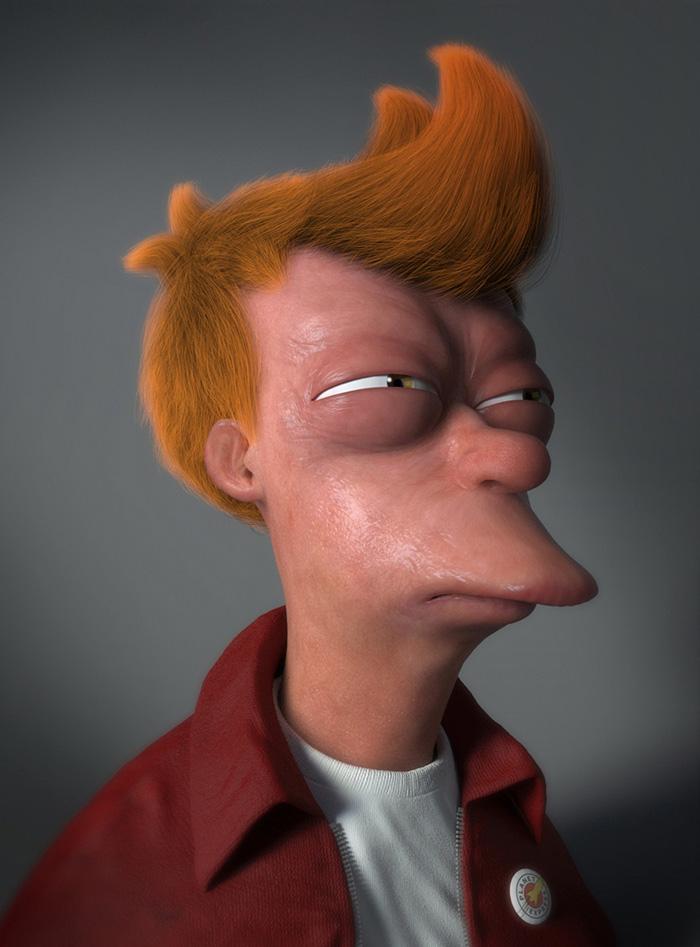 Fry di Futurama (Miguel Miranda)