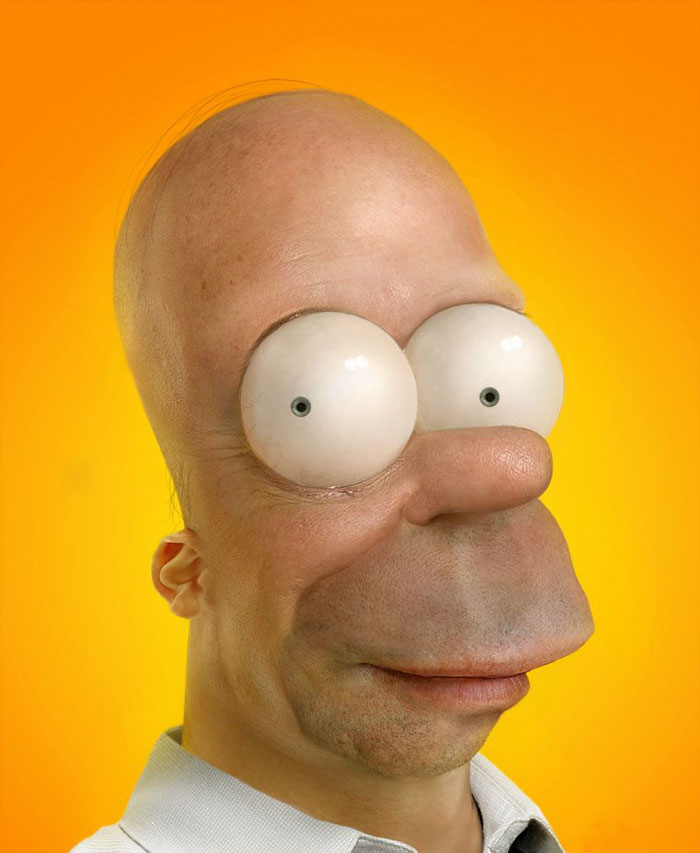 Homer Simpson (Pixeloo)