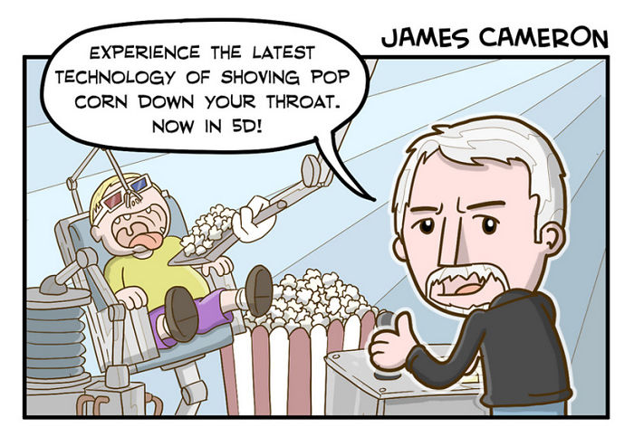 James Cameron (Cheeklicious)
