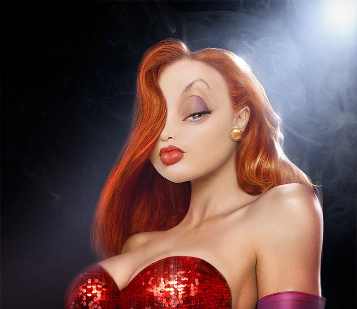 Jessica Rabbit (Pixeloo)