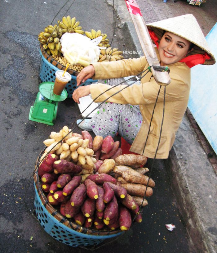 Katy Perry (FB/QTEAA/Foody.vn)