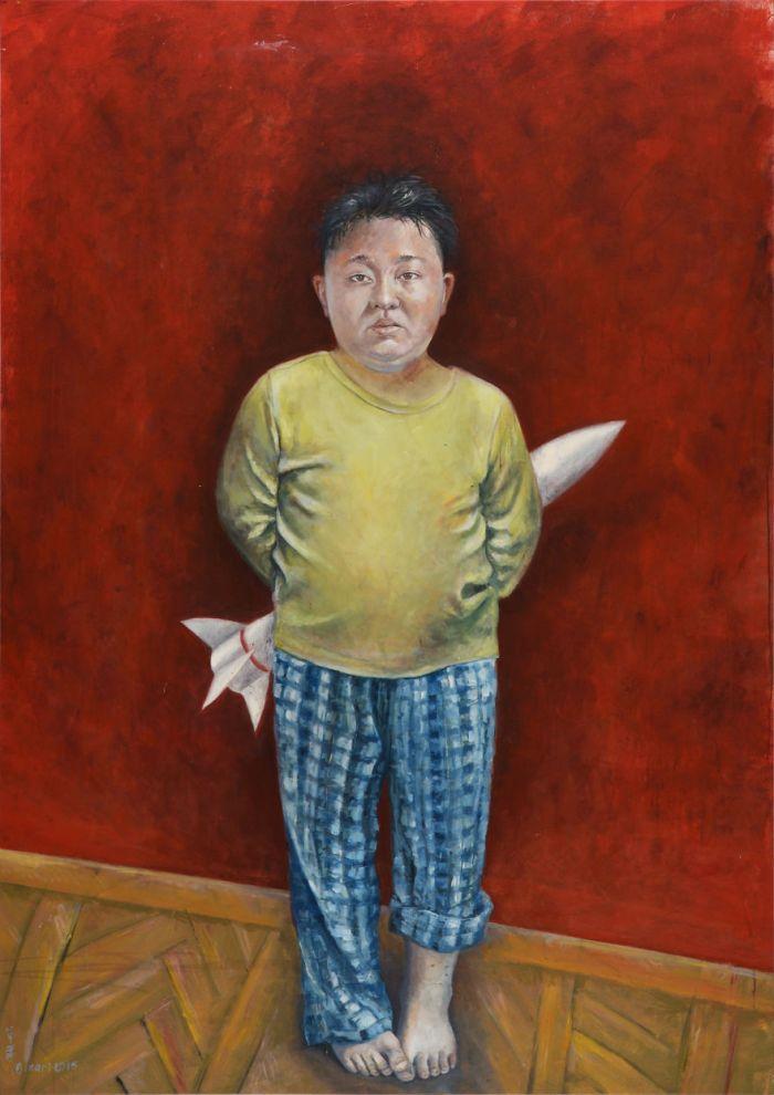 Kim Jong-un (The Vulnerability Series/Abdalla Al Omari)