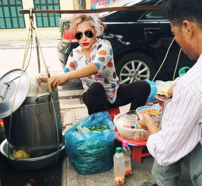 Lady Gaga (FB/QTEAA/Foody.vn)