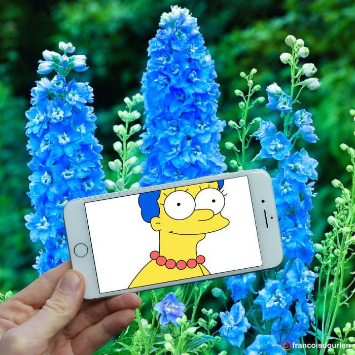 Marge Simpson (Francois Dourlen/Instagram)