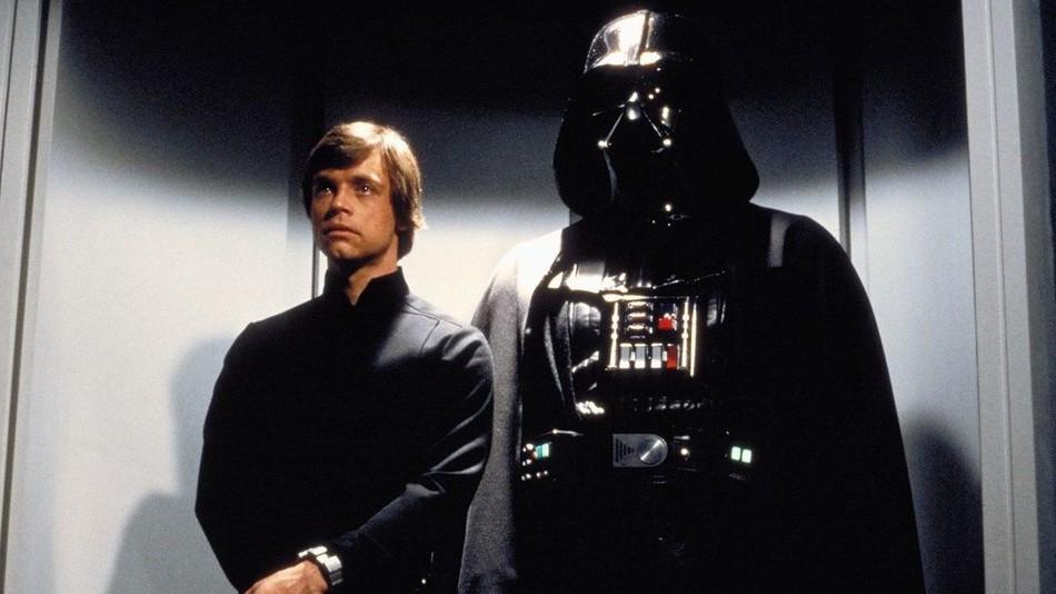 Mark Hamill e Darth Vader (Lucasfilm)
