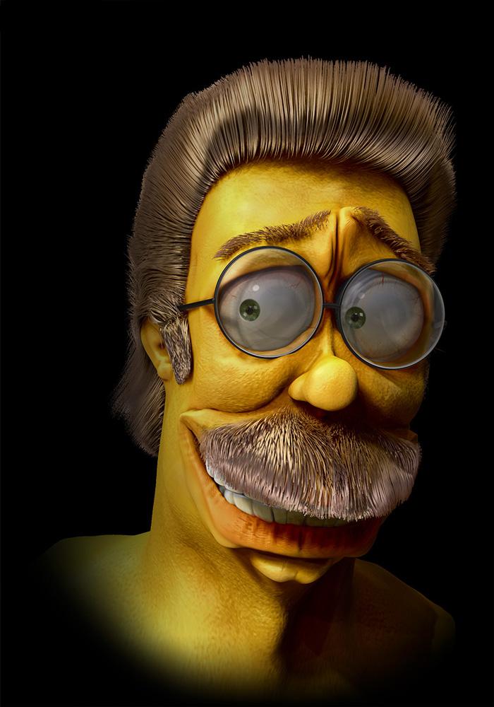 Ned Flanders dei Simpson (Amroosi)