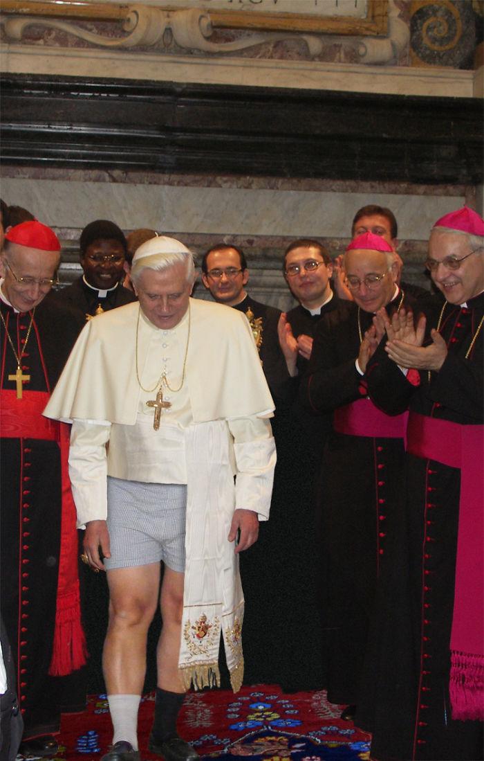 Papa Ratzinger (designcrowd.com)