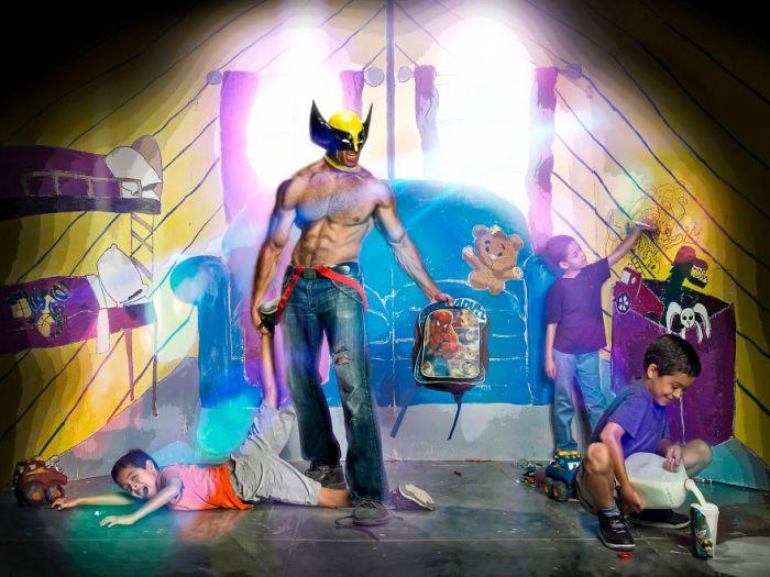 Supereroe papà single (Duke Shoman/SUbPAR HEROES)