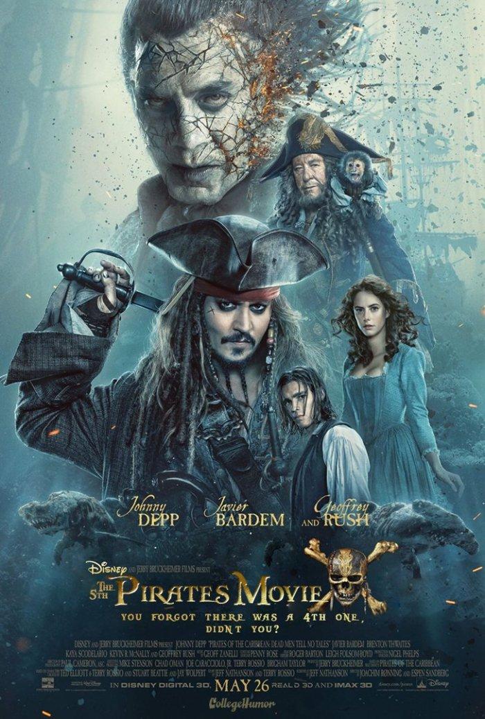 Pirati dei Caraibi - La Vendetta di Salazar (CollegeHumor)