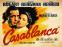 Poster Casablanca (Warner Bros)