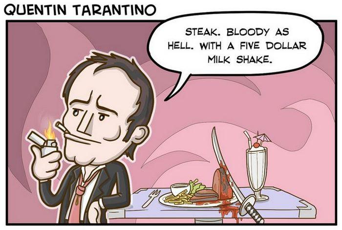 Quentin Tarantino (Cheeklicious)