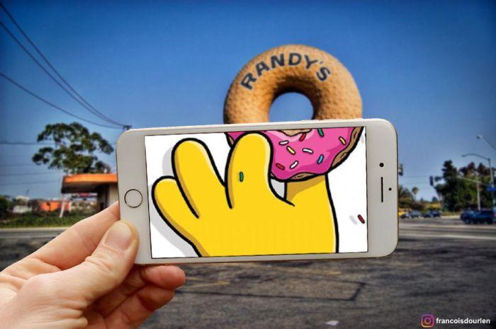 Randy's Donuts (Francois Dourlen/Instagram)