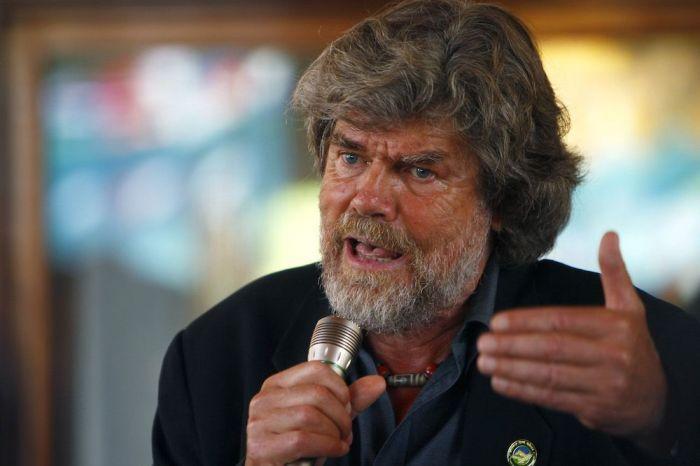 L'alpinista Reinhold Messner Niranjan Shrestha/AP/Rex/Shutterstock)