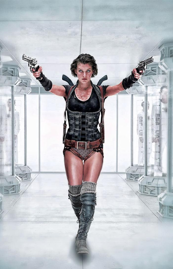 Alice di Resident Evil (designcrowd.com)