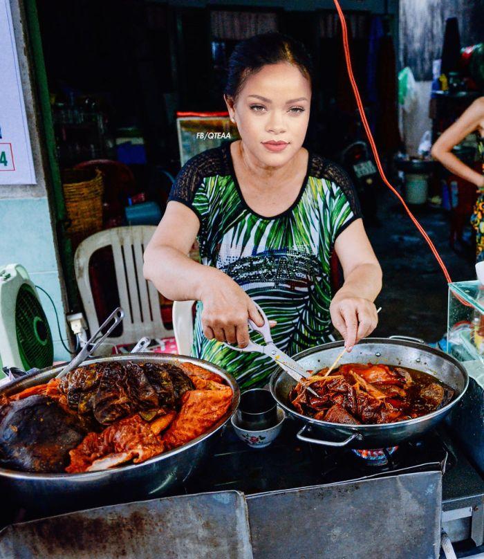 Rihanna (FB/QTEAA/Foody.vn)