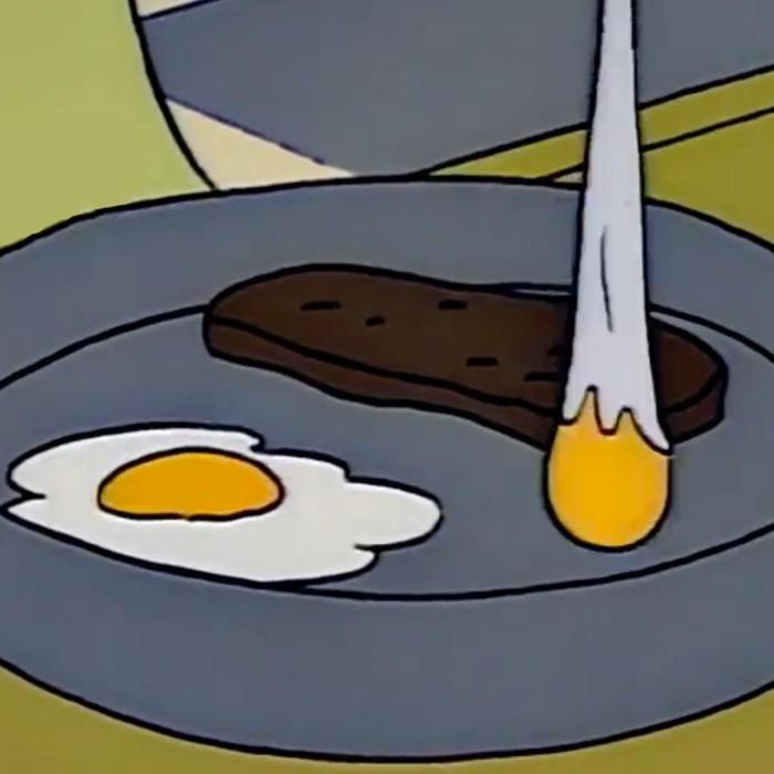 Steak with Fried Eggs (Springfield Cuisine/FOX)