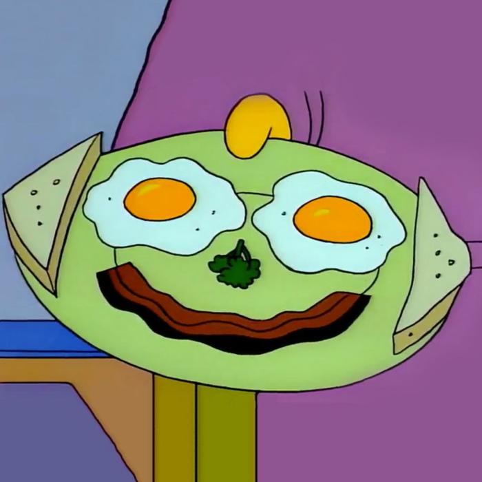 Smiley Breakfast (Springfield Cuisine/FOX)