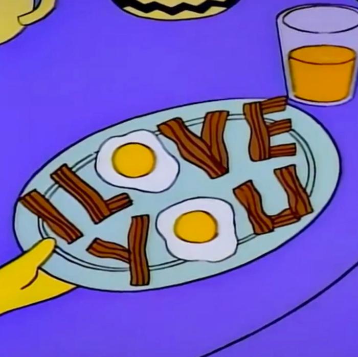 I Love You Bacon (Springfield Cuisine/FOX)