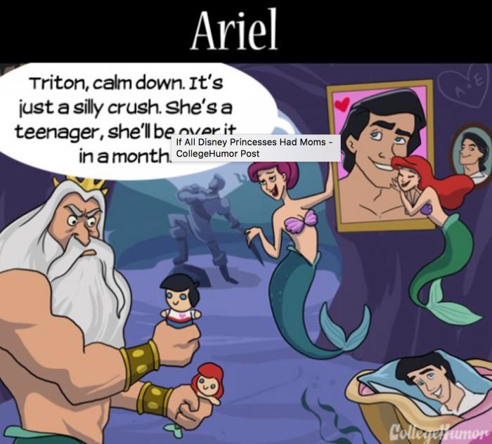 La mamma di Ariel de La Sirenetta (College Humor)