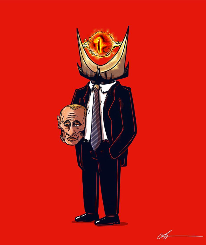 Vladimir Putin (Icons Unmasked/Alex Solis)