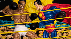 La versione di Phileas Flash della cover di Superman Vs Muhammad Ali (Balloon Heroes)