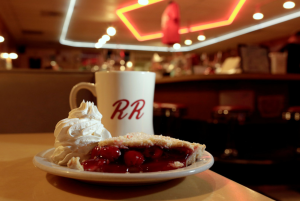 Double R Diner cherry pie (Twin Peaks)