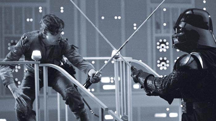 Luke Skywalker contro Darth Vader (Lucasfilm)