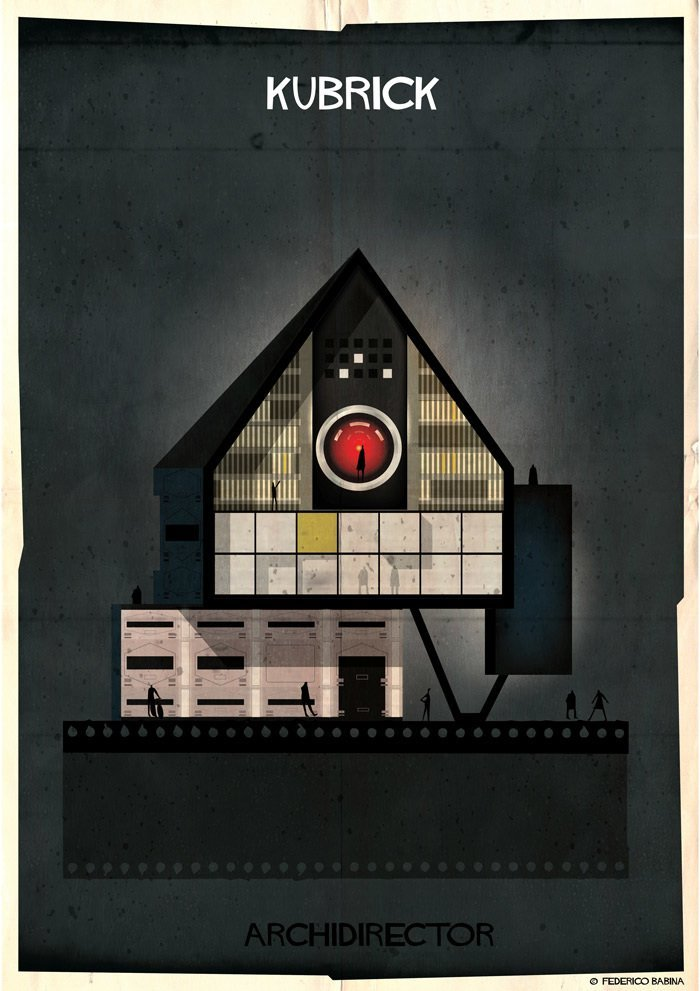 Stanley Kubrick (federicobabina.com)