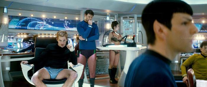 Star Trek crew (designcrowd.com)