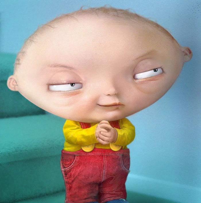 Stewie Griffin (Pixeloo)