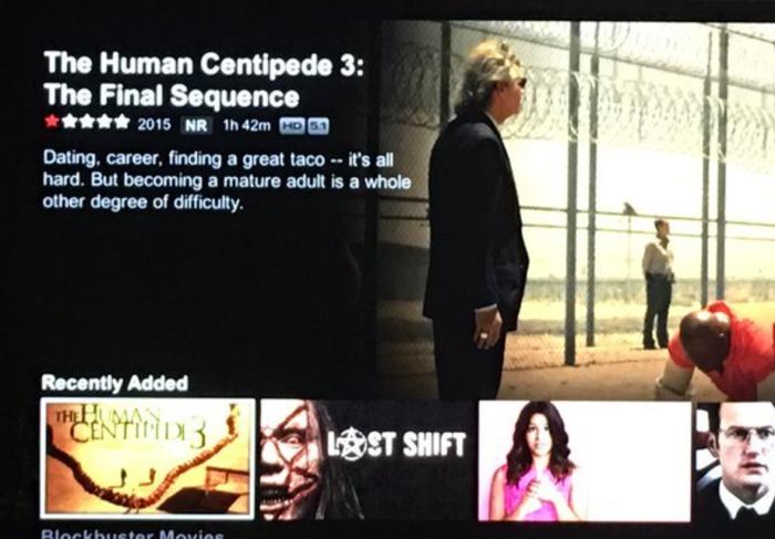 The Human Centipede 3 (Netflix)
