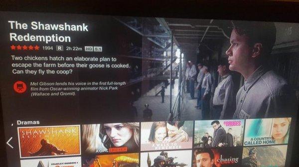 The Shawshank Redemption (Netflix)