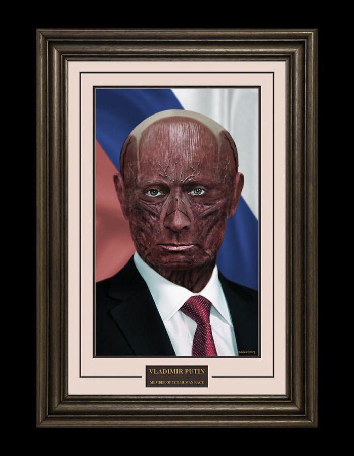Vladimir Putin/One Millimeter (Alex Wadelton/Marcus Byrne)