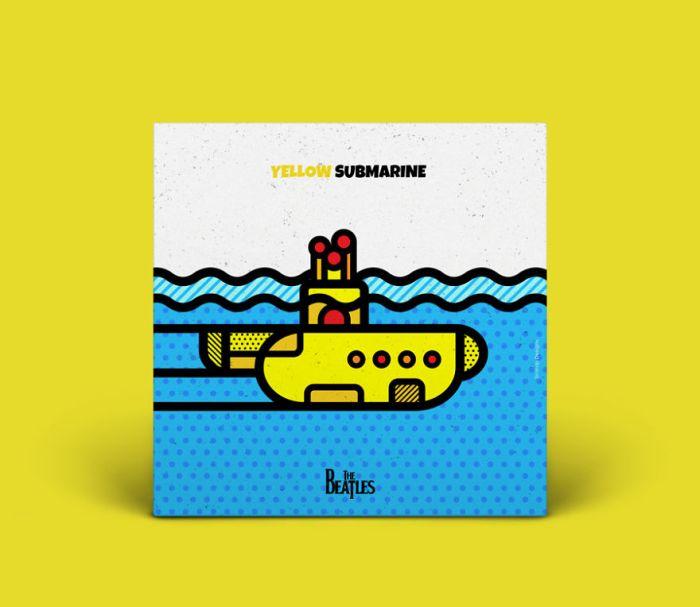 Yellow Submarine - The Beatles (Mike Karolos)