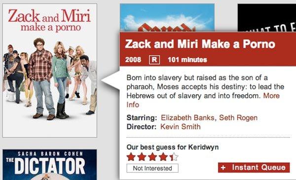 Zack and Miri make a porno (Netflix)